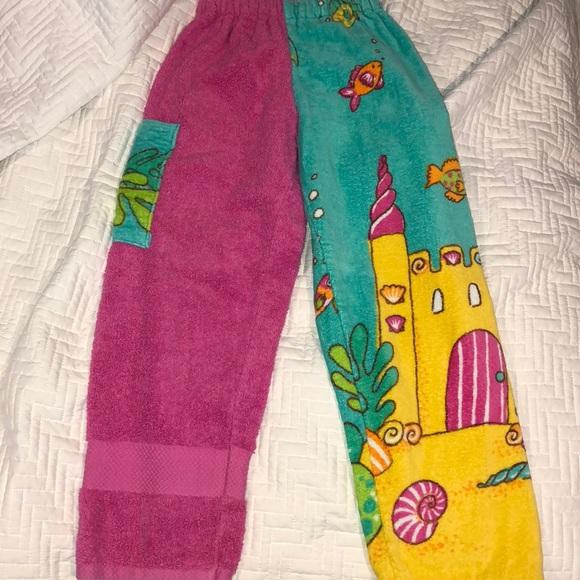 d5d34ab2c7 Pink Towel Pants. M_5b55df750945e0e36ab33fa8